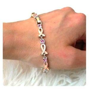 Pink Awareness Bracelet 🌸